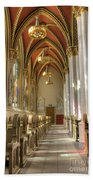 Cathedral Of Saint Helena Bath Towel