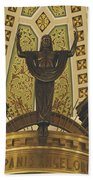 Cathedral Of The Immaculate Conception Detail - Mobile Alabama Bath Towel