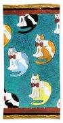 Cats Bath Towel