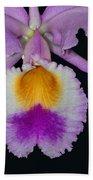 Cattleya Orchid Bath Towel