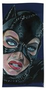 Catwoman Bath Towel