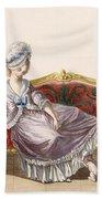 Cavaco A La Polonaise, Engraved Bath Towel