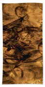 Cave Painting Bath Towel