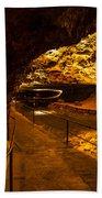 Cavern River Path Bath Towel