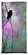 Celestial Dream Of Crow Bath Towel