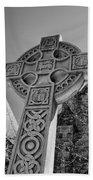 Celtic Cross At Trinity Bath Towel