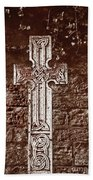 Celtic Cross Bath Towel