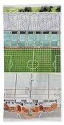 Celtic Park Stadia Art - Celtic Fc Bath Towel