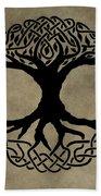 Celtic Tree Of Life Bath Towel