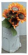 Cemetary Flowers 1 Bath Towel