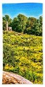 Cemetary Ridge Gettysburg Battleground Bath Towel
