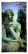 Cemetery Angel 2 Bath Towel