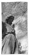 Cemetery Angel Hand Towel