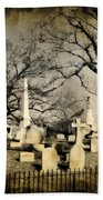 Cemetery Shades Bath Towel