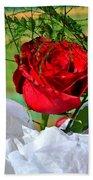 Centenary Rose Bath Towel