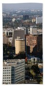 Central San Jose California Bath Towel