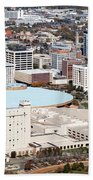 Century II Convention Hall And Downtown Wichita Bath Towel