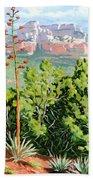 Century Plant - Sedona Bath Towel