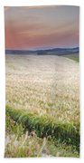 Cereal Fields Hand Towel
