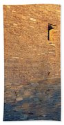 Chaco Canyon Indian Ruins, Sunset, New Bath Towel