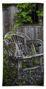 Chair In The Garden Bath Towel