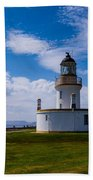 Chanonry Point Lighthouse Bath Towel