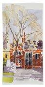 Chapel And Hall  Lincoln's Inn Bath Towel