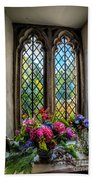 Chapel Flowers Bath Towel