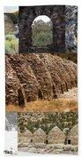 Charcoal Kilns Bath Towel