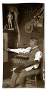 Charles Dickman Artist Monterey California Circa 1907 Hand Towel