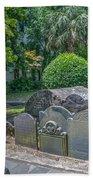 Charleston Graveyard Bath Towel