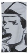 Charlie Sheen Bath Towel