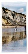 Charmouth Beach Bath Towel