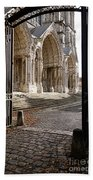 Chartres Cathedral North Transept Bath Towel