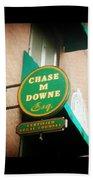 Chase M Downe Esq. Bath Towel