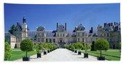 Chateau De Fontainebleau Ile De France Bath Towel
