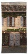 Chateau No 1 Rue Moulins France Bath Towel