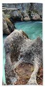 Cheakamus River Channel Bath Towel