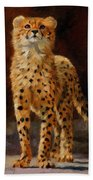Cheetah Cub Bath Towel