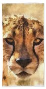 Cheetah One Bath Towel