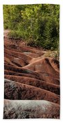 Mars On Earth - Cheltenham Badlands Ontario Canada Bath Towel