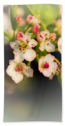 Cherry Blossom Flowers Bath Towel