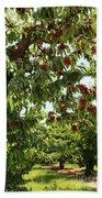 Cherry Orchard  Bath Towel