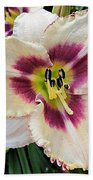 Cherryberry Daylily Bath Towel