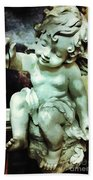 Cherub At Play Bath Towel