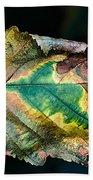 Chestnut Autumn Mosaic Bath Towel