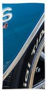 Chevelle Ss 454 Badge Bath Towel