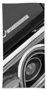 Chevrolet Chevelle Ss Taillight Emblem Bath Towel