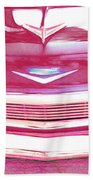 Chevy - Red Bath Towel