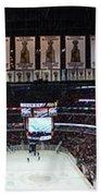 Chicago Blackhawks United Center Panorama 03 Bath Towel